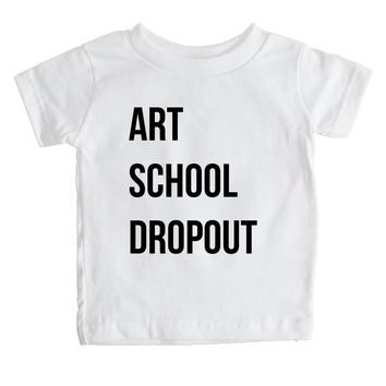 Art School Dropout  Baby Tee