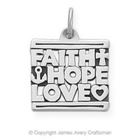 Faith, Hope and Love Charm from James Avery