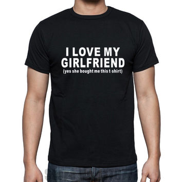 MENS BOYFRIEND Gift T Shirt