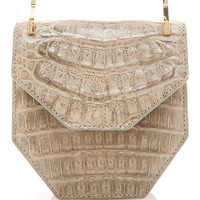 Mini Amor Fati Crocodile and Calf Skin Bag