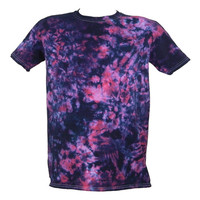 Tie Dye Purple / Raspberry Scrunch Festival T-Shirt