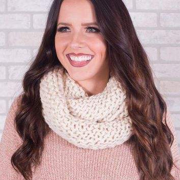 MDIG8 Chunky Knit Infinity Scarf - Multiple Options