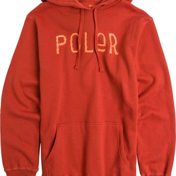 POLER FURRY FONT PULLOVER FLEECE