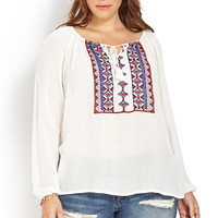 Prairie Girl Embroidered Top