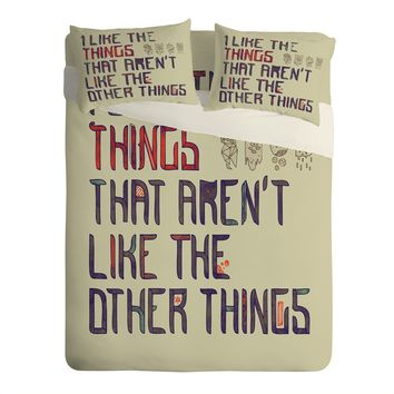 Hector Mansilla The Things I Like Sheet Set Lightweight