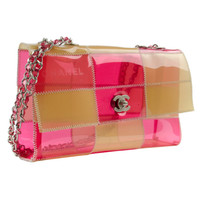 Chanel Transparent Flap Bag