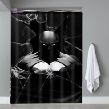 Top Batman Dark Knight Super Hero DC Movie Custom Shower Curtain Limited Edition
