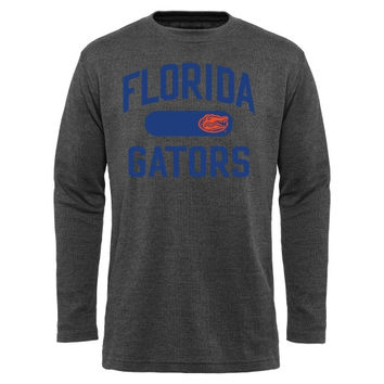 Florida Gators Straight Out Long Sleeve Thermal T-Shirt - Charcoal