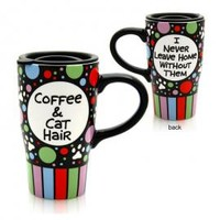Coffee & Cat Hair Travel Mug