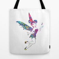 Tinker Bell Tote Bag by Bitter Moon