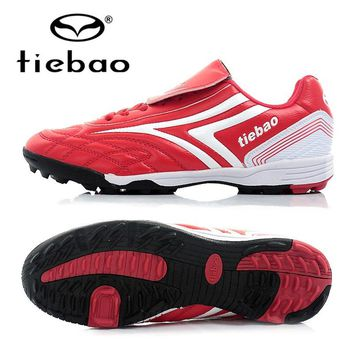 TIEBAO Professional Women Soccer Shoes Alta Botines De Futbol Botas TF Turf Soles Indoor Sports Football Shoes Sneakers Boots