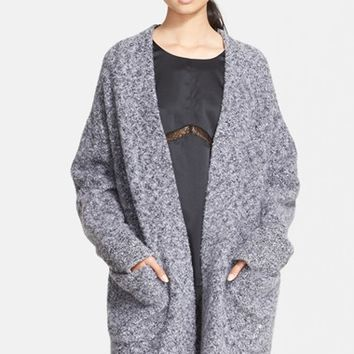 Women's rag & bone 'Diana' Wool Blend Sweater Coat,