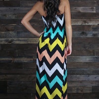 Hot 'Lanta Chevron Maxi