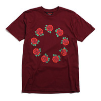 9 Year Roses T-Shirt Burgundy