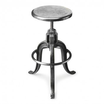 Parnell Adjustable Swivel Iron Bar Stool