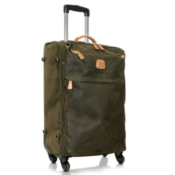 Bric's Designer Travel Bags Life - Micro-Suede Trolley with Spinners