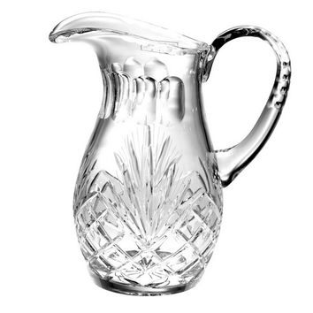 Majestic Gifts MA-162 Hand Cut Crystal 48 oz. Pitcher
