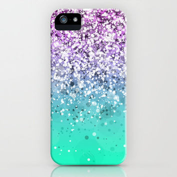 Spark Variations III iPhone & iPod (+iPad, Laptop and Pillow) Case by Rain Carnival
