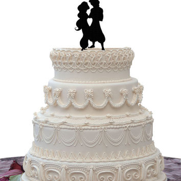 Aladdin Wedding Cake Topper