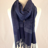 Midnight In Paris Pashmina