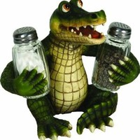 River's Edge 584 Salt and Pepper Shaker Holder (Alligator)