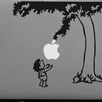 Giving Tree and Child Vinyl Sticker for apple Macbook Air 11 12 13 Pro 13 15 17 Retina Decal Car Laptop Multi Skins Pegatinas