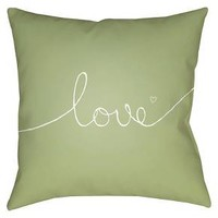 Endless Love Throw Pillow - Surya : Target