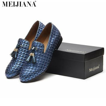 MEiJiaNa New BV breathable comfortable  men loafers luxury Loafers