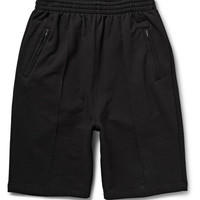 Raf Simons - Printed Loopback Cotton-Jersey Shorts | MR PORTER
