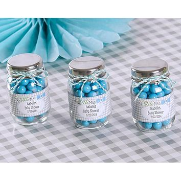 """My Little Man"" Personalized Mini Mason Jar (Set of 12)"