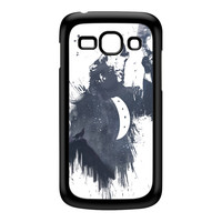 Wolf Song 3 Black Hard Plastic Case for Galaxy Ace 3 by Balazs Solti