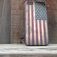 iPhone 5 American Flag Cell Phone Case