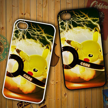 PIKACU pokemon ball wallpaper Y1834LG G2 G3, Nexus 4 5, Xperia Z2, iPhone 4S 5S 5C 6 6 Plus, iPod 4 5 Case