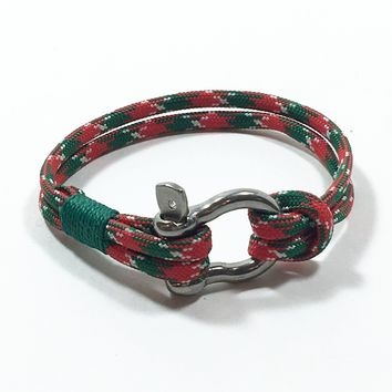 Limited Edition Christmas Shackle Bracelet