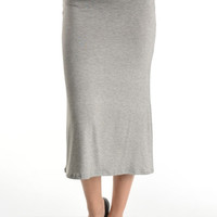 The Perfect Maxi Midi Skirt - Mocha