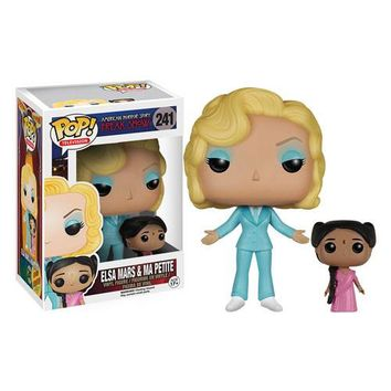 American Horror Story Freak Show Elsa Mars and Ma Petite Pop! Vinyl Figure