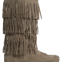 Tiered Fringe Boot | Shop Sale at Wet Seal