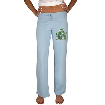 Always Be Yourself Turtle Womens Sweatpants