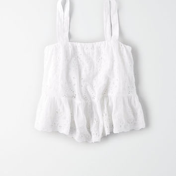 AE Sleeveless Top, White