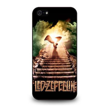 LED ZEPPELIN STAIRWAY TO HEAVEN iPhone 5 / 5S / SE Case Cover