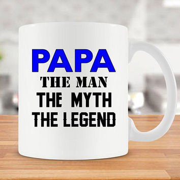 Funny Dad Mug For Grandpa Gift Idea For Papa Fathers Day Present For Him Best Coffee Cup Daddy Gift For Father Grandfather Present - SA254