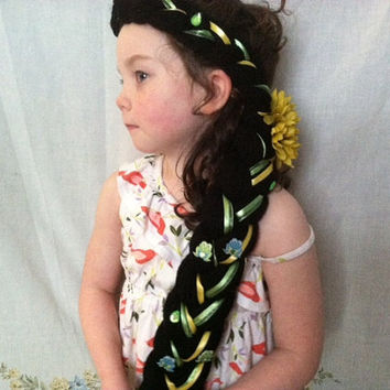Princess Tiana Dress up Braid, Princess and the Frog Party, Tiana Costume,  Ready to Ship, Princess Tiana Costume