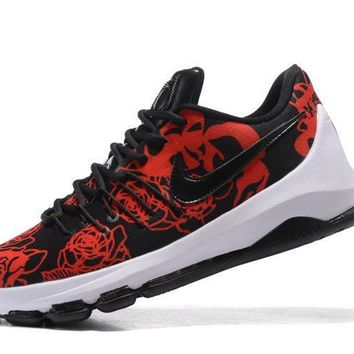 2017 Nike Zoom Kd 8 Kevin Durant Black Rose Men's Basketball Shoes - Beauty Ticks