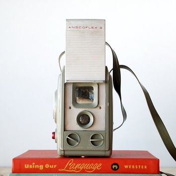 Vintage Anscoflex II Camera - TLR Box Camera 620 Film