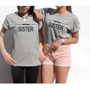 DCCKJ1A [Best Friend Sister] sister lovers T-shirt