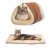 2-in-1 Zip Removable Cat Or Dog Bed For Pets.