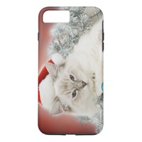 Christmas Cat iPhone 8 Plus/7 Plus Case