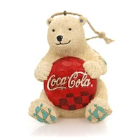 Jim Shore Coca-Cola Bear Resin Ornament