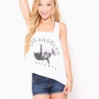 LA Dreamer Crop Tank - JUST ARRIVED
