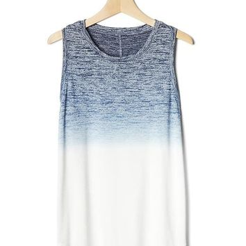 Softspun knit ombré tank | Gap